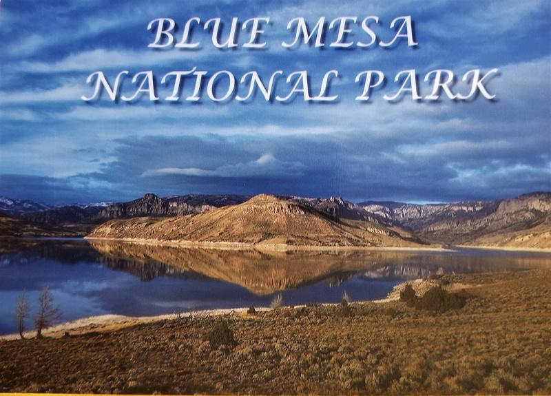 BLUE MESA NATIONAL PARK SCENE- 1 INVITE